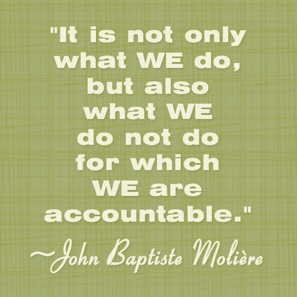 Accountability Verses