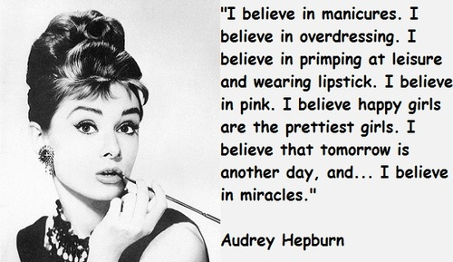 Quotes On Hair Audrey Hepburn By John Calvin